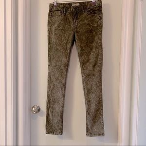 Free people distressed corduroy pants sz 30x32